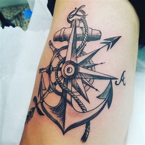 Compass And Anchor Tattoo Meaning | www.pixshark.com ...