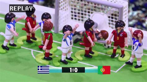 Competición de Fútbol PLAYMOBIL   #1   YouTube