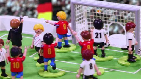 Competición de Fútbol PLAYMOBIL   #2   YouTube