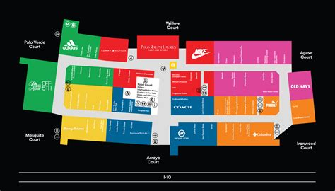 Complete List Of Stores Located At Phoenix Premium Outlets ...