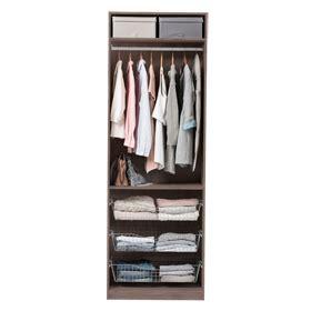 Composiciones de armario sin puertas - Leroy Merlin