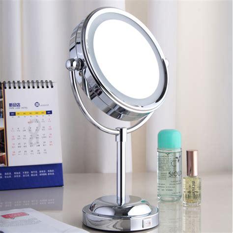 Compra De pie espejo de maquillaje iluminado online al por ...