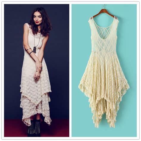 Compra hippie vestidos largos online al por mayor de China ...