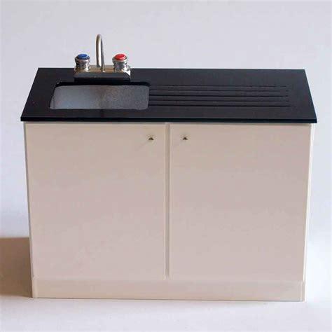 compra miniaturas modernas Módulo lavabo para casas de muñecas