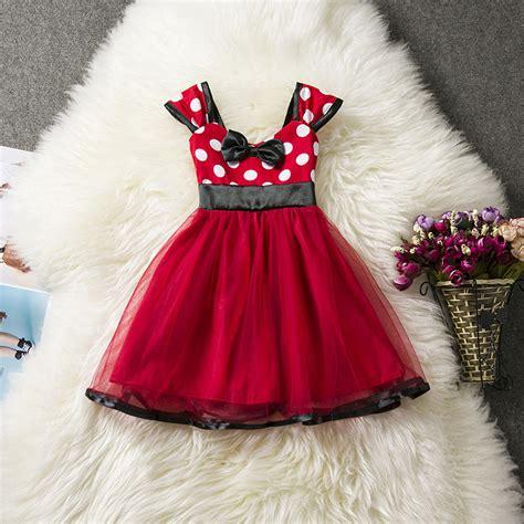 Compra minnie mouse vestido de cumpleaños para niñas ...