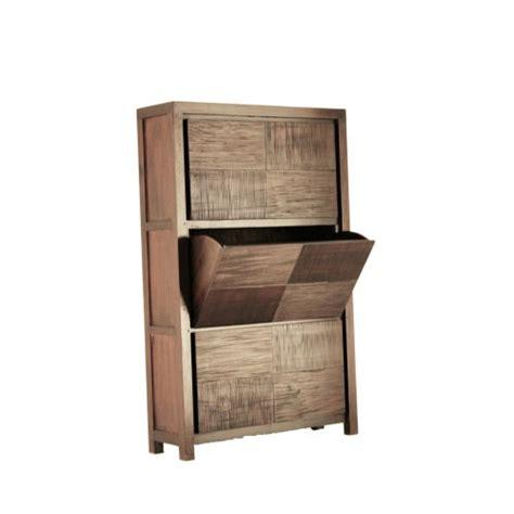 Compra online. Zapatero en madera de caoba oriental de ...