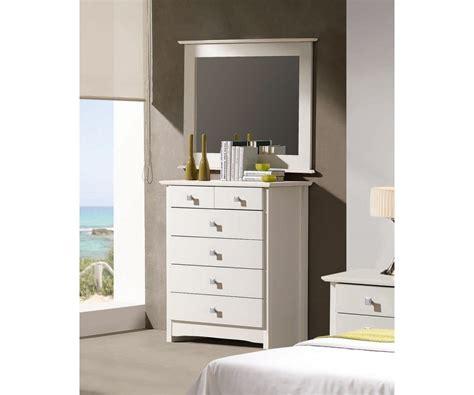 Comprar Espejo marco blanco Bari | Precio Espejos Tuco.net