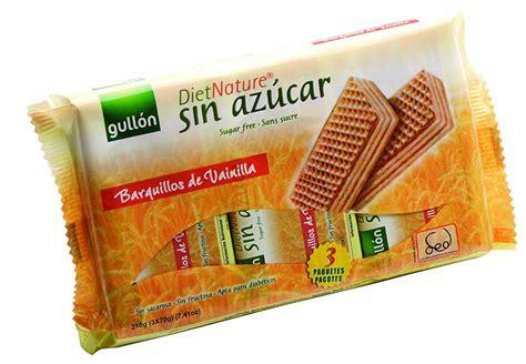 Comprar galletas,bolleria y pan sin azucar Online en Cáceres
