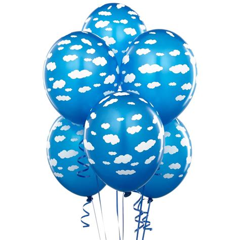 Comprar Globos nubes azul (6) online. Envío en 24h ...