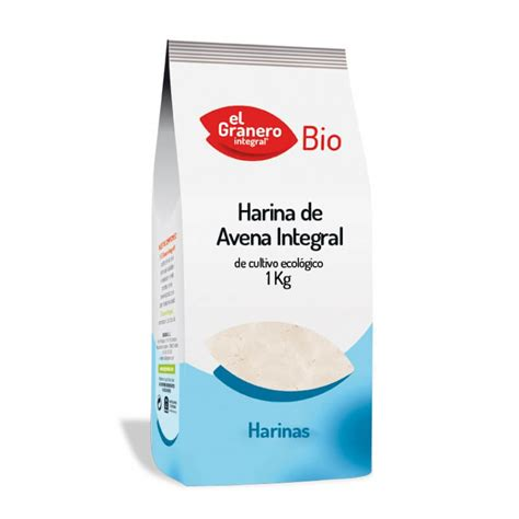 Comprar Harina de avena integral en supermercados ecológicos