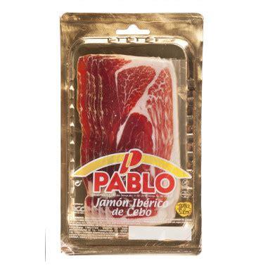 Comprar Jamón Ibérico Loncheado 80g Cecinas Pablo