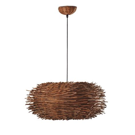Comprar Lámpara Colgante de mimbre tipo nido   Comprar ...