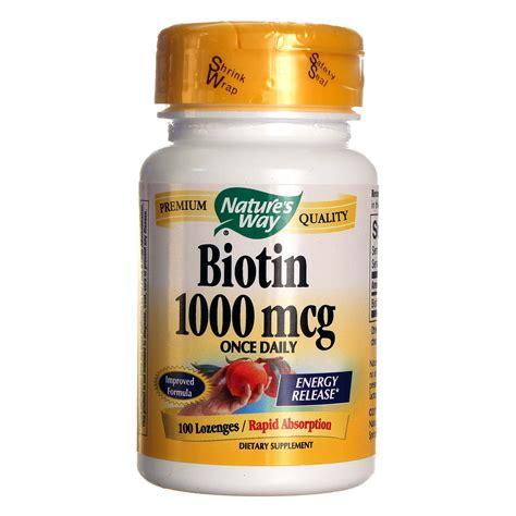Comprar Nature's Way Biotina cereza 100 pastillas México