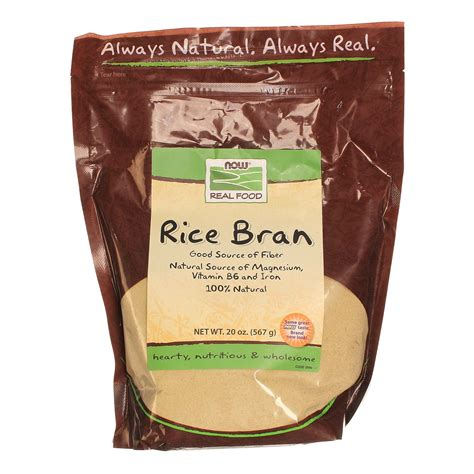 Comprar Now Foods Salvado de arroz 20 oz México