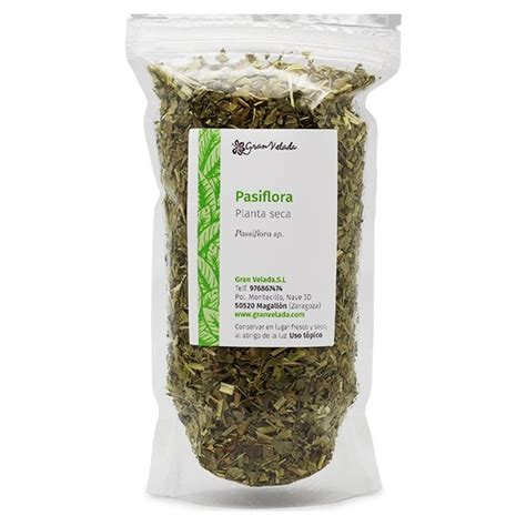 Comprar pasiflora seca a granel. Venta online.
