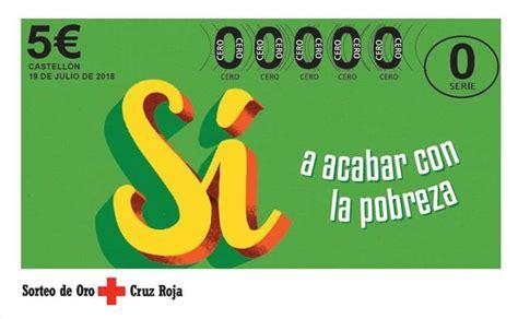 Comprobar el Sorteo de Oro de la Cruz Roja del jueves 19 ...