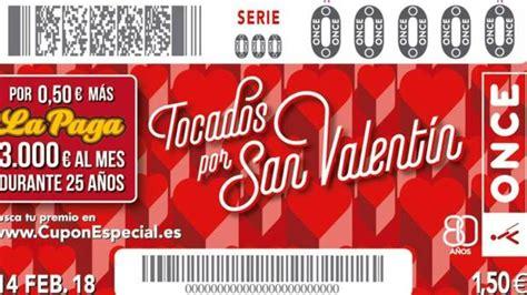 Comprobar sorteo de San Valentín de la ONCE