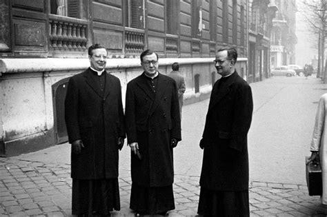 Con San Josemaría y D. Álvaro. París, 3 de febrero de 1959 ...