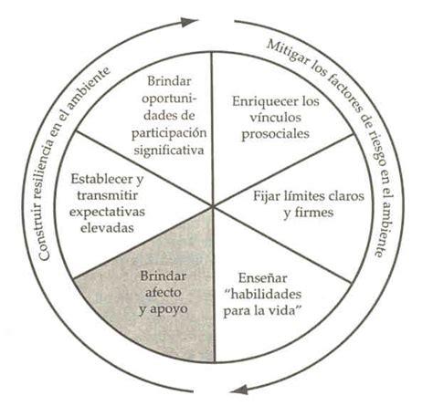 Con Vivencia en Juego: Rueda de la Resiliencia.