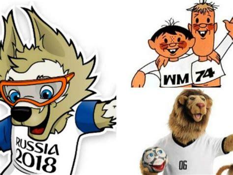 Con Zabivaka: todas las mascotas del Mundial de Fútbol ...