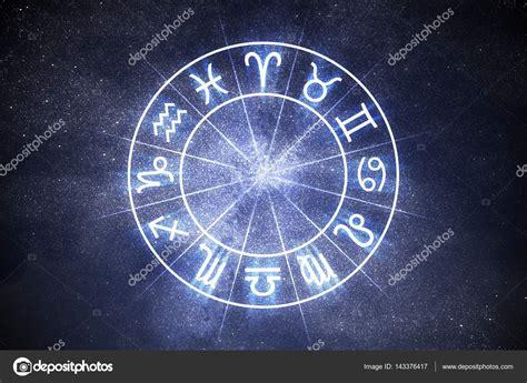 Concepto de astrología y horóscopos. Signos de zodiaco ...