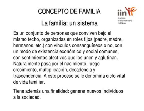 Concepto de familia by Educación Familiar y Ciudadana - Issuu
