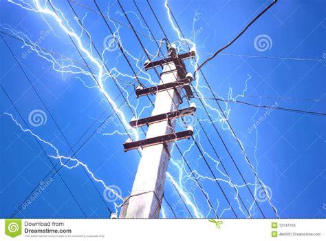 Concepto De La Electricidad Imagen de archivo - Imagen ...
