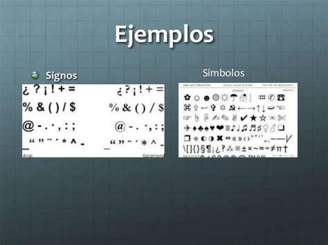 concepto de signo y simbolo signos y simbolos