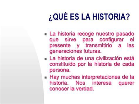 Concepto historia