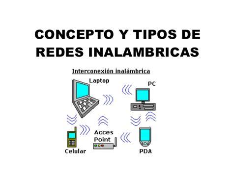 Concepto y tipos de redes inalambricas