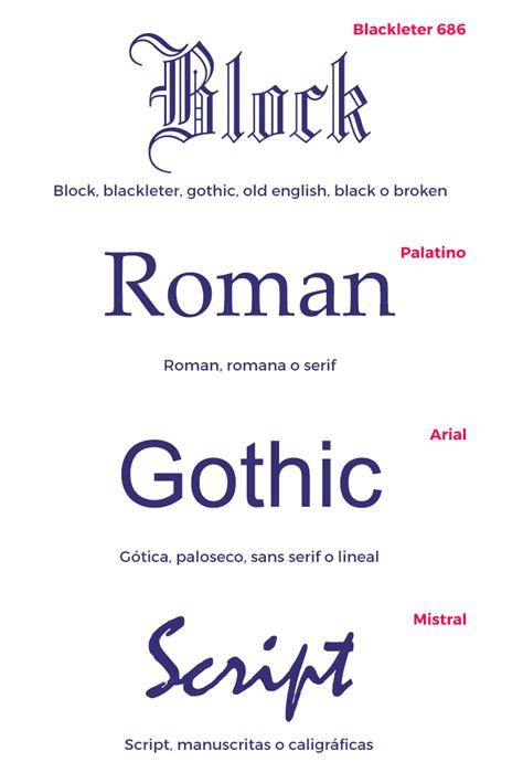 Conceptos básicos sobre los tipos de letra   FRESHFISH