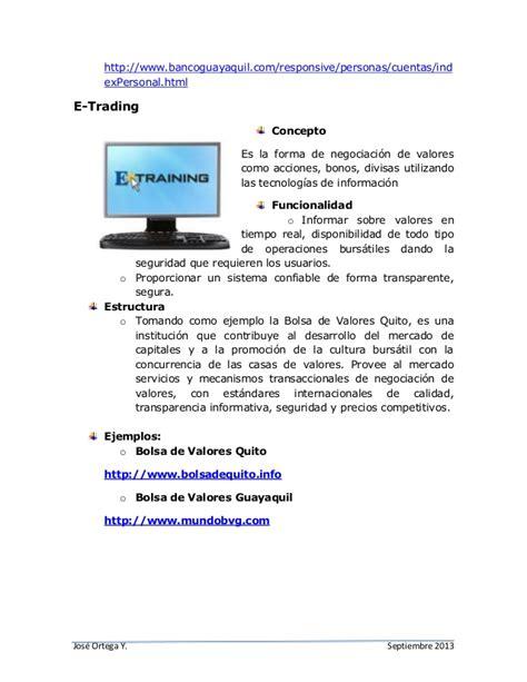 Conceptos,e-Goverment, e-Procurement, e-Banking, e-trading
