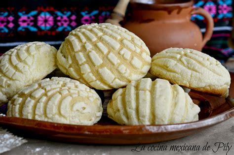 Conchas Caseras Tradicional Pan Mexicano | La Cocina ...