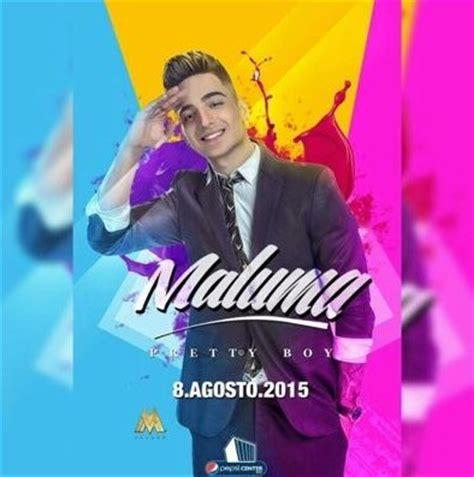 Concierto de Maluma en DF , Mexico, 08 de agosto de 2015