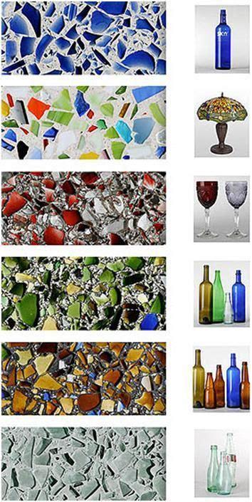 Concreto con Vidrio Reciclado   RECICLADO   Pinterest ...