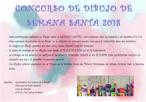 Concurso de Dibujo de Semana Santa 2018 - San Lorenzo de ...