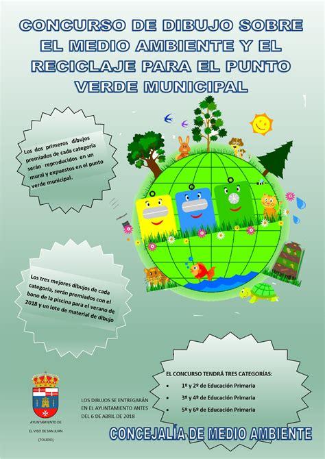 Concurso de dibujo sobre el medio ambiente y reciclaje