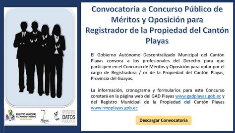 Concurso de Méritos y Oposición - Registrador de la ...