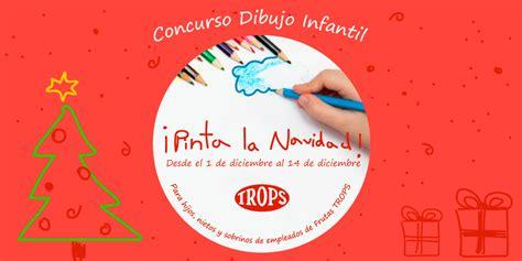Concurso dibujo infantil ¡Pinta la Navidad! | Trops