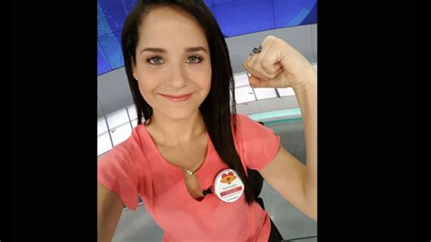 Conductora de TV Sigrid Bazán sorprendió a televidentes ...