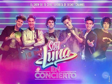 Conexão Sou Luna: Fotos promocionais da turnê Soy Luna en ...
