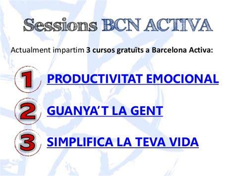 Conferència Barcelona Activa - Neurociència, Intel ...