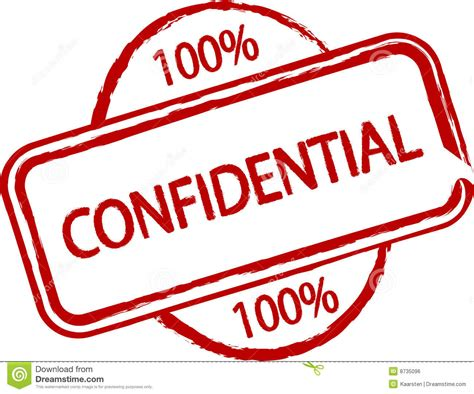 Confidential Royalty Free Stock Image   Image: 8735096