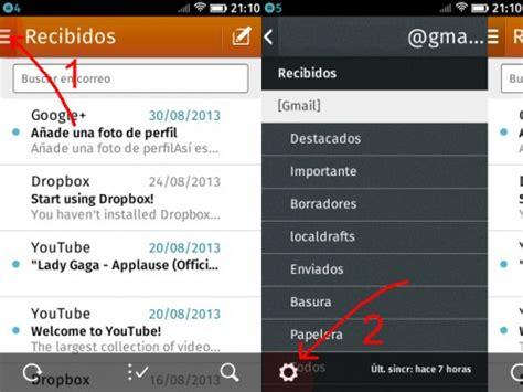 Configurar cuenta de email con FireFox OS » Definición