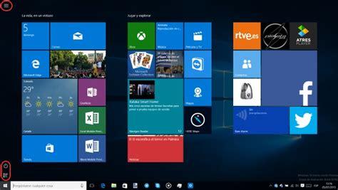 Configurar el Menú Inicio en Windows 10 para PC: todas las ...