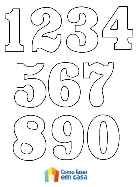 Confira as Melhores Dicas de Moldes de Números para ...