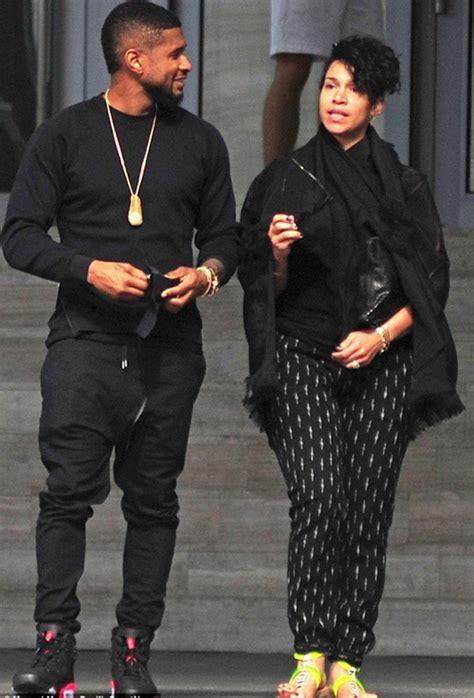 Congratulations!!! R&B Singer Usher Raymond And Girlfriend ...