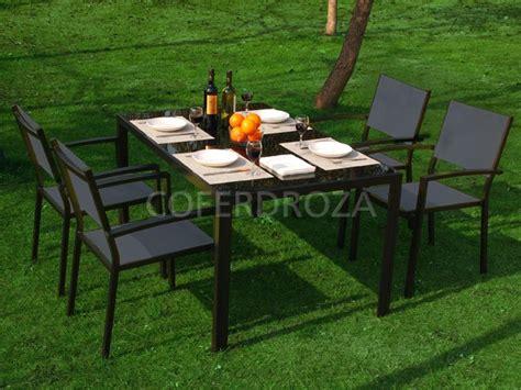 Conjunto de mesa y sillas para jardin Parma - 300,00 ...