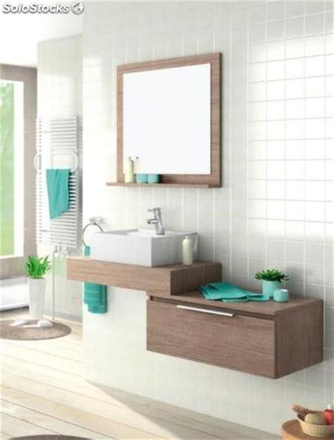 Conjunto mueble de baño LIN 70 + lavabo sobre encimera ...