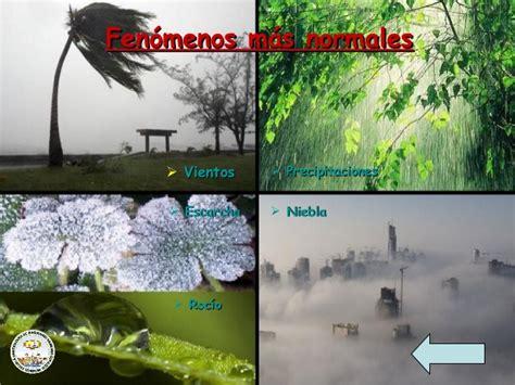 Cono del medio fenomenos atmosfericos